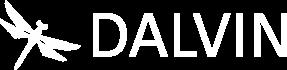 LOGO DALVIN blanc
